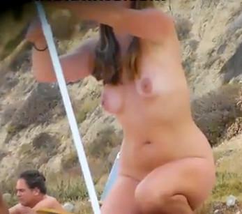 вас, съемка скрытой видеокамерой голых женщин на пляже залили спермой
