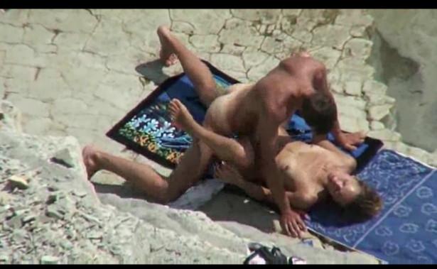 Скрытый камера на дикий пляж — 1