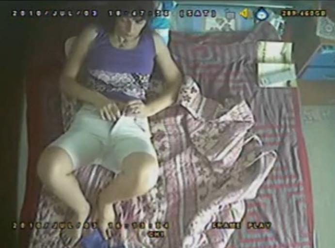 мастурбация женщин скрытая камера