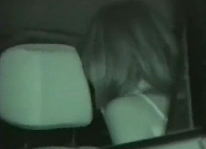 Ночная камеро трах в машине