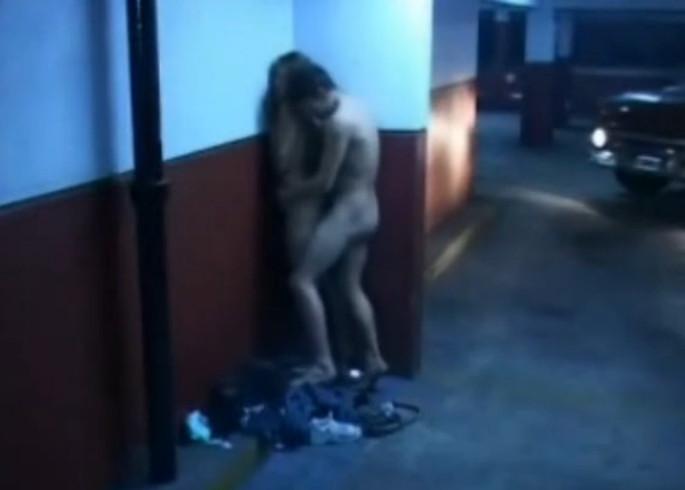 Домашний секс на камеру видеонаблюдения, русское порно грубый минет