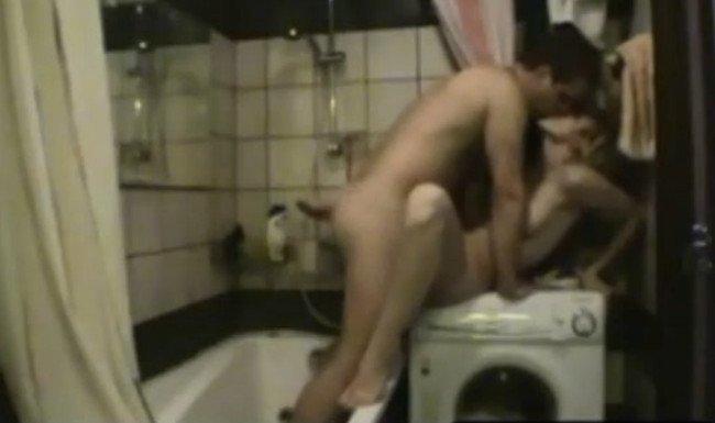 Смотреть домашнее порно в ванне