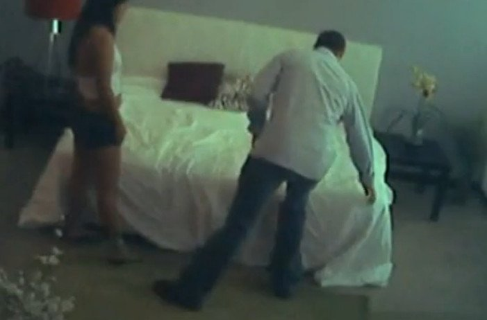 Проститутки демонстрируют колготки вовремя ебли